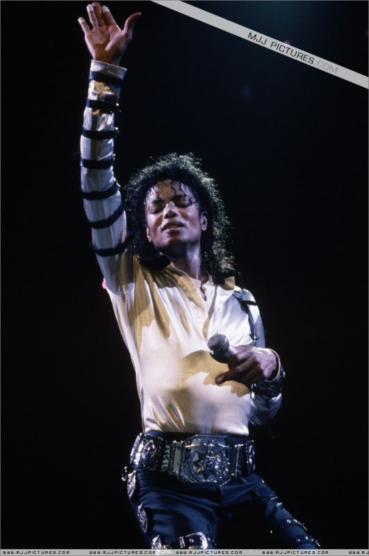 Bad World Tour Onstage- Various 161-1