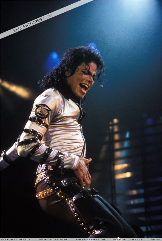 Bad World Tour Onstage- Various 163-1
