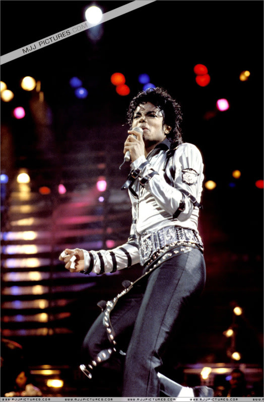 Bad World Tour Onstage- Various 165