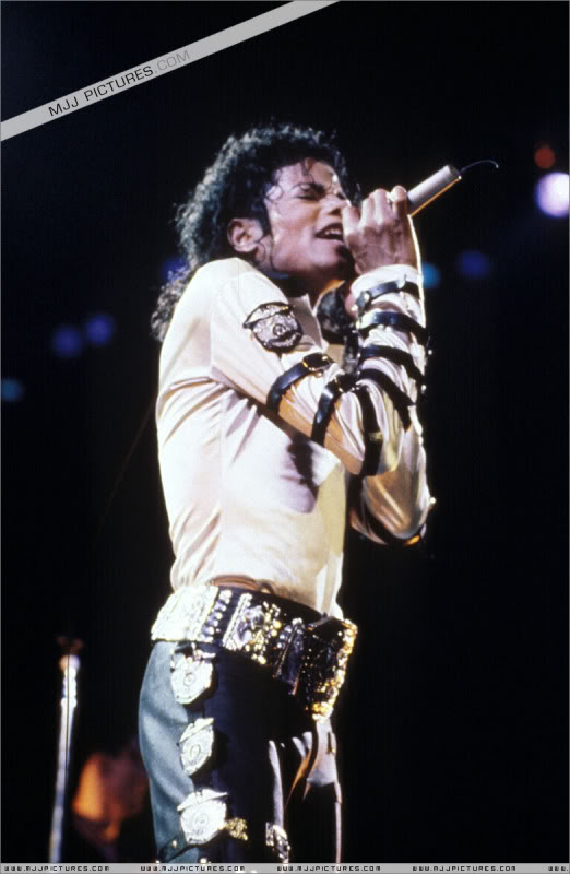 Bad World Tour Onstage- Various 168-1