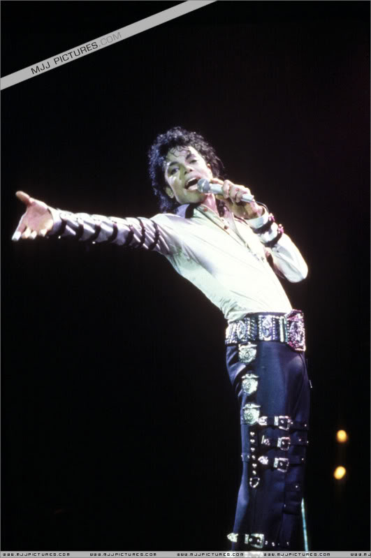 Bad World Tour Onstage- Various 169-1