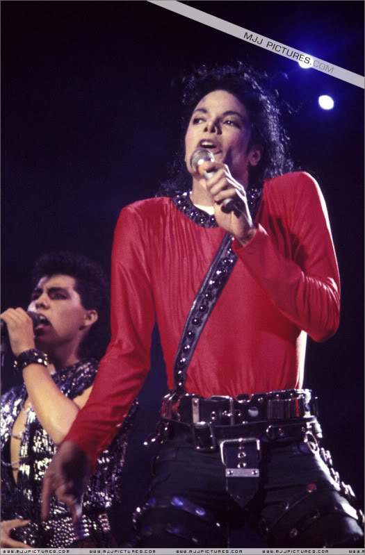 Bad World Tour Onstage- Various 170-1