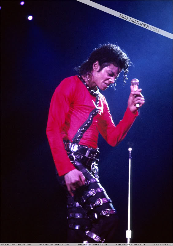 Bad World Tour Onstage- Various 172-1