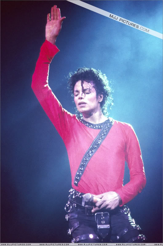 Bad World Tour Onstage- Various 173-1