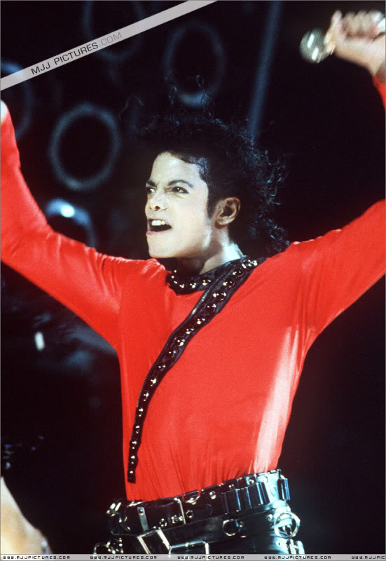 Bad World Tour Onstage- Various 175-1