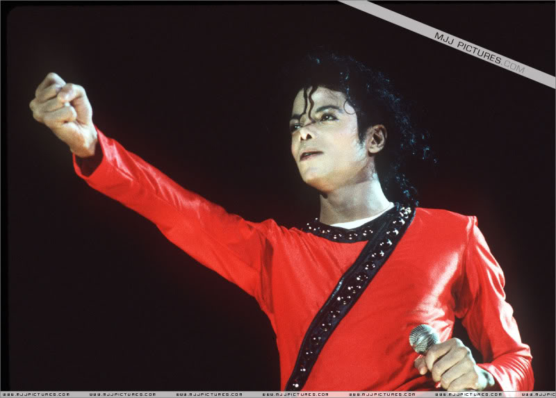 Bad World Tour Onstage- Various 176-1