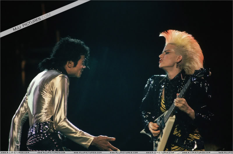 Bad World Tour Onstage- Various 177-1