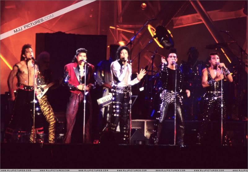 Bad World Tour Onstage- Various 179-1