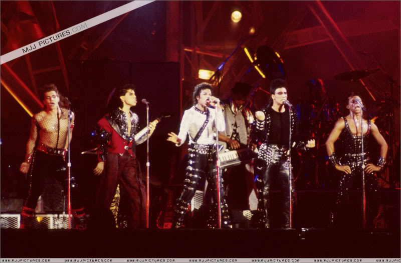 Bad World Tour Onstage- Various 180-1