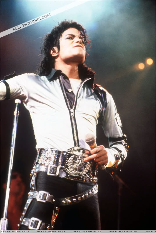 Bad World Tour Onstage- Various 183-1