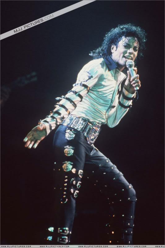 Bad World Tour Onstage- Various 185-1