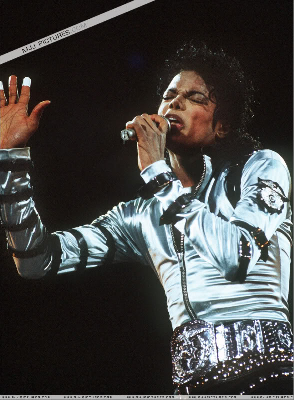 Bad World Tour Onstage- Various 188-1