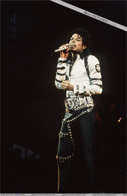 Bad World Tour Onstage- Various 190-1