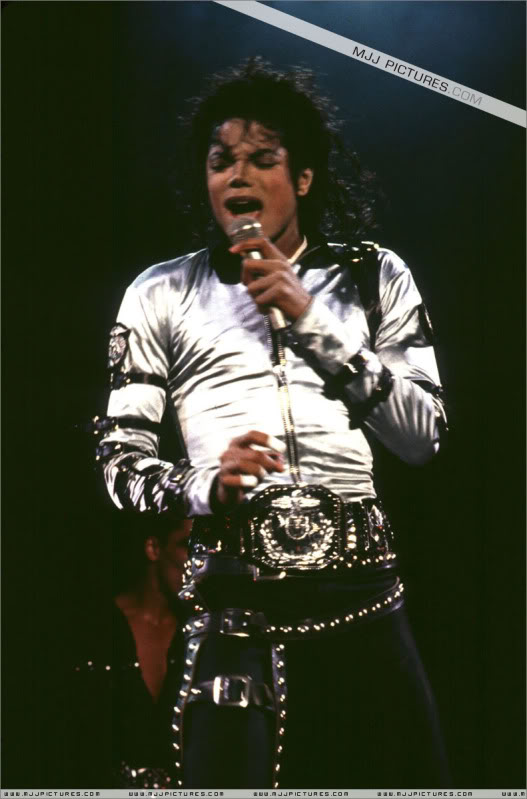 Bad World Tour Onstage- Various 193-1