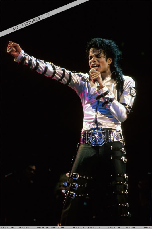 Bad World Tour Onstage- Various 194-1