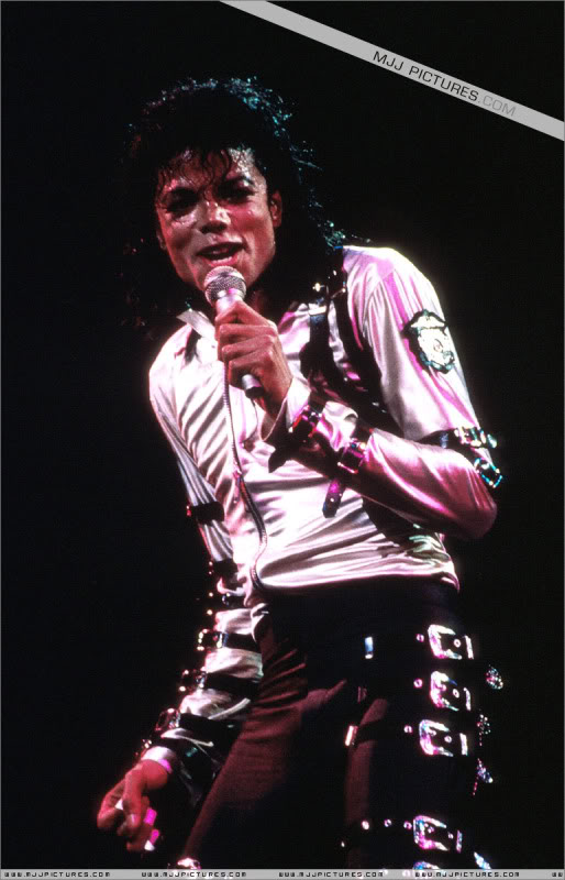 Bad World Tour Onstage- Various 197-1