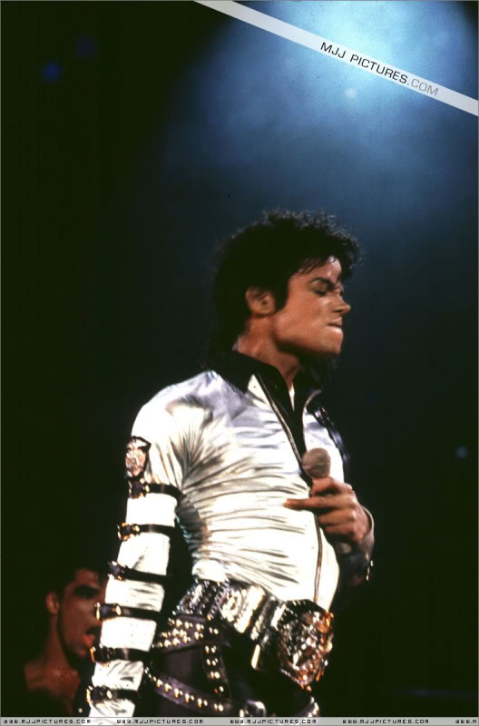 Bad World Tour Onstage- Various 198-1