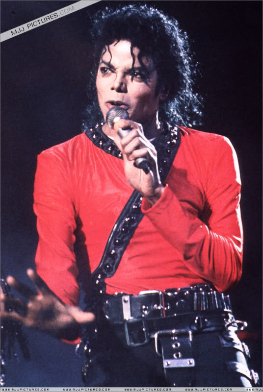 Bad World Tour Onstage- Various 202-1