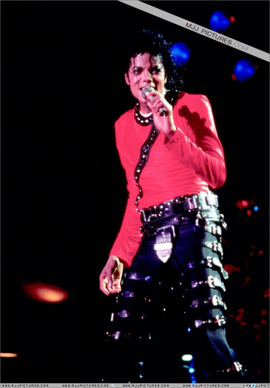 Bad World Tour Onstage- Various 203-1