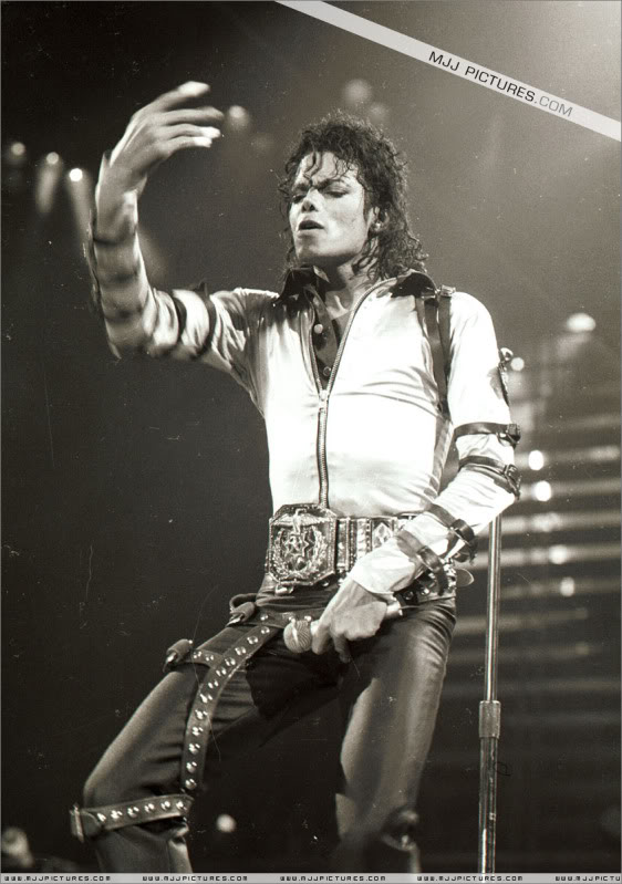 Bad World Tour Onstage- Various 208-1