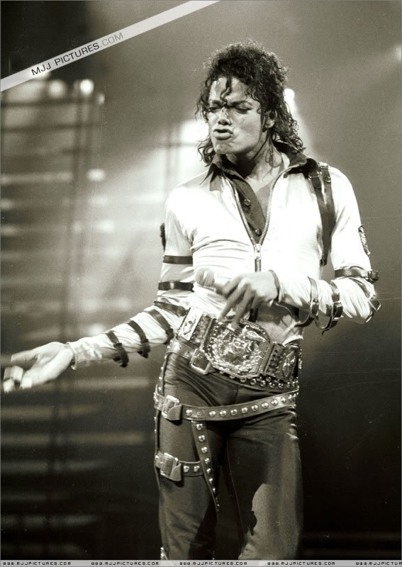 Bad World Tour Onstage- Various 209-1