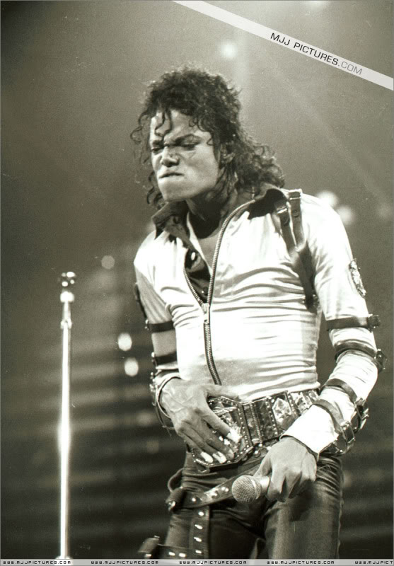 Bad World Tour Onstage- Various 214-1