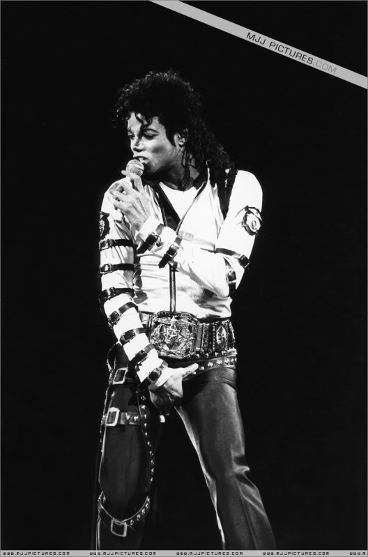 Bad World Tour Onstage- Various 215-1