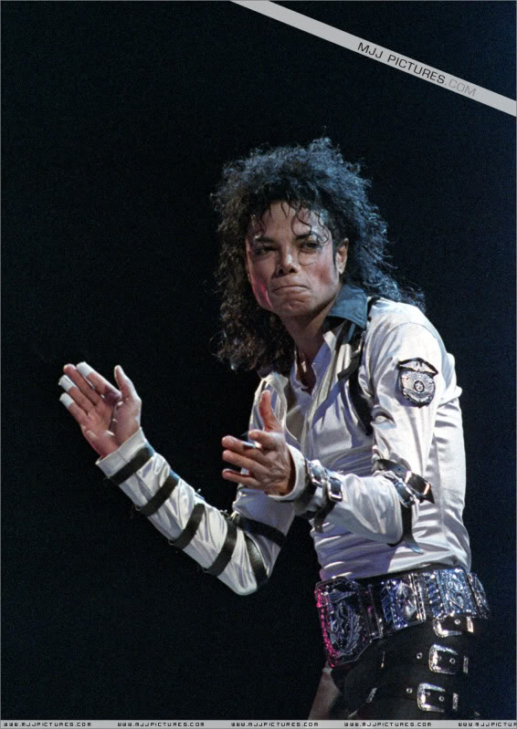 Bad World Tour Onstage- Various 216-1