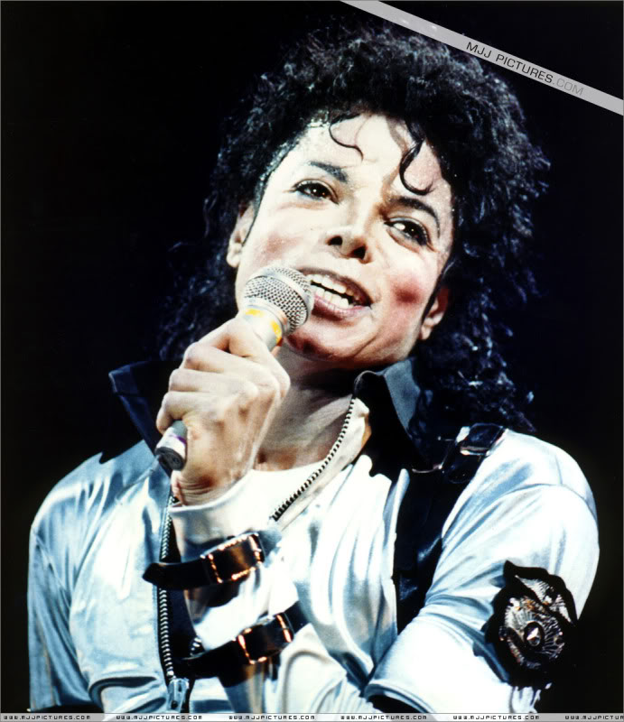 Bad World Tour Onstage- Various 217-1