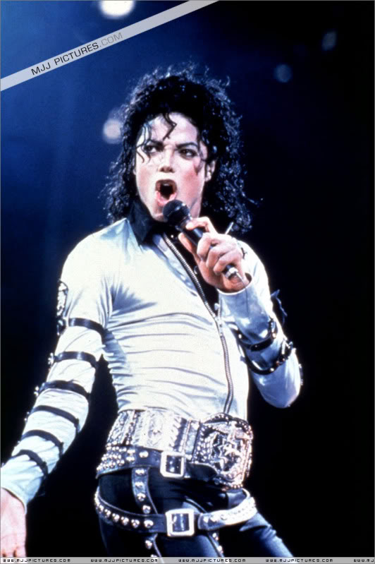 Bad World Tour Onstage- Various 218-1