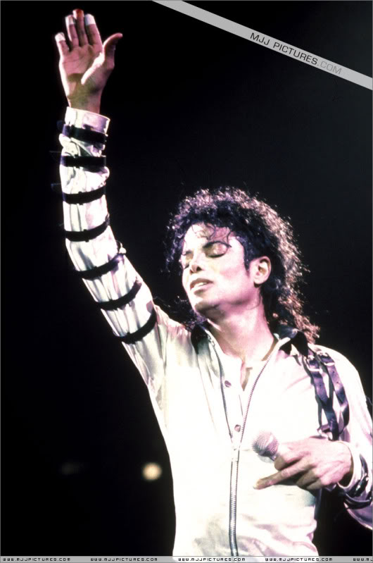 Bad World Tour Onstage- Various 219-1