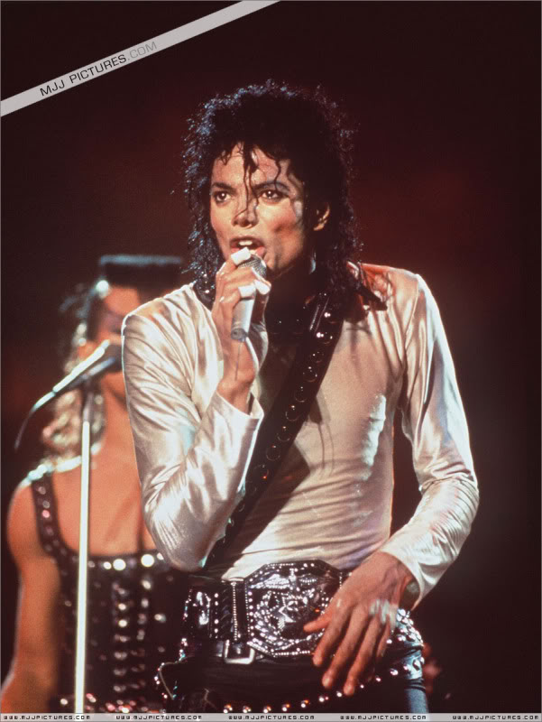 Bad World Tour Onstage- Various 221-1