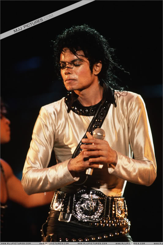 Bad World Tour Onstage- Various 223-1