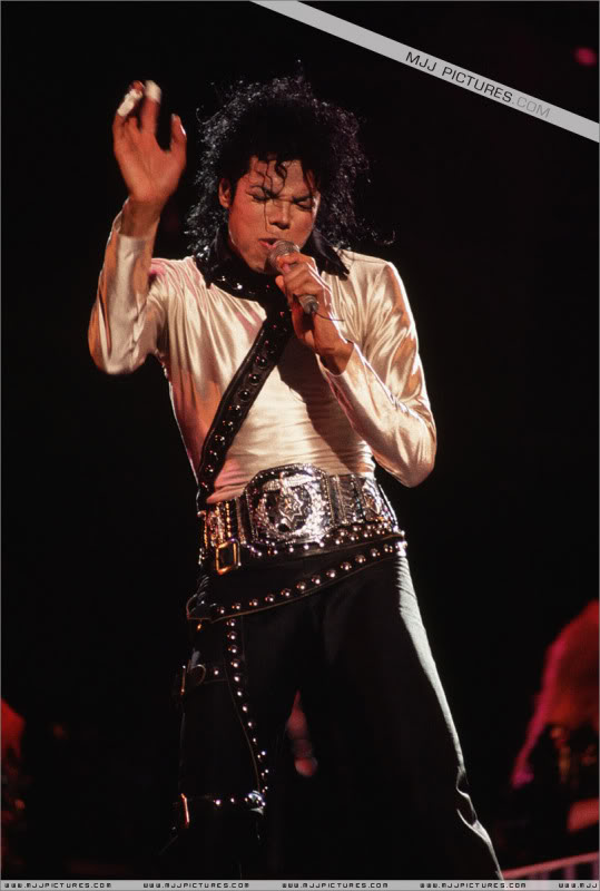 Bad World Tour Onstage- Various 224-1