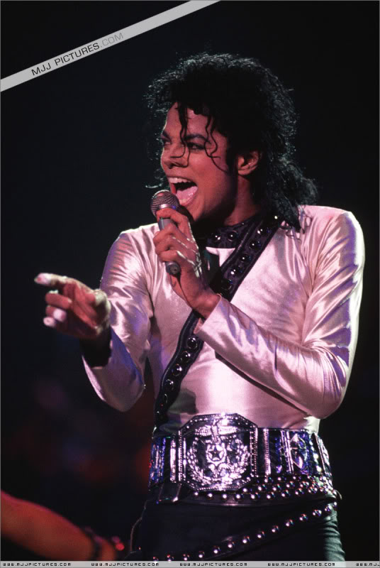 Bad World Tour Onstage- Various 228