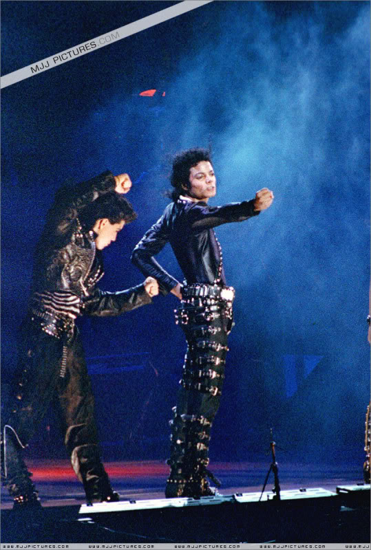 Bad World Tour Onstage- Various 232