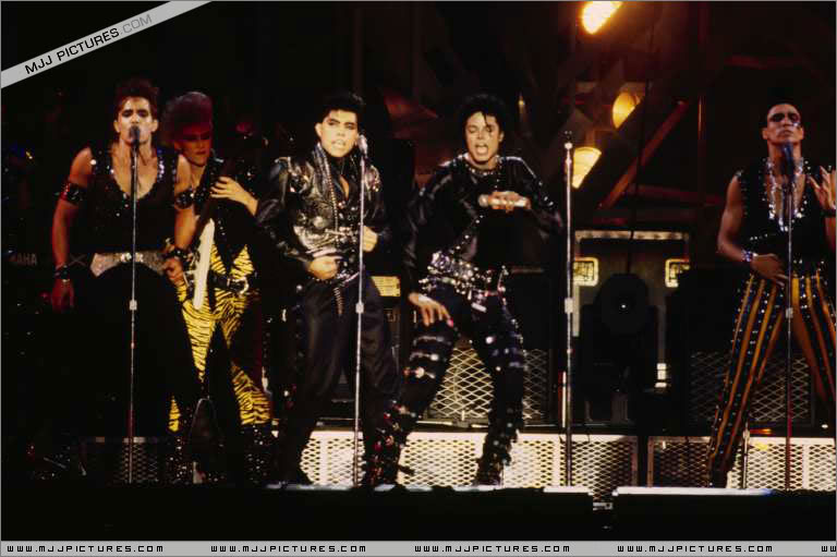 Bad World Tour Onstage- Various 234