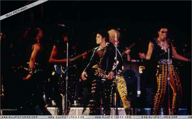 Bad World Tour Onstage- Various 235