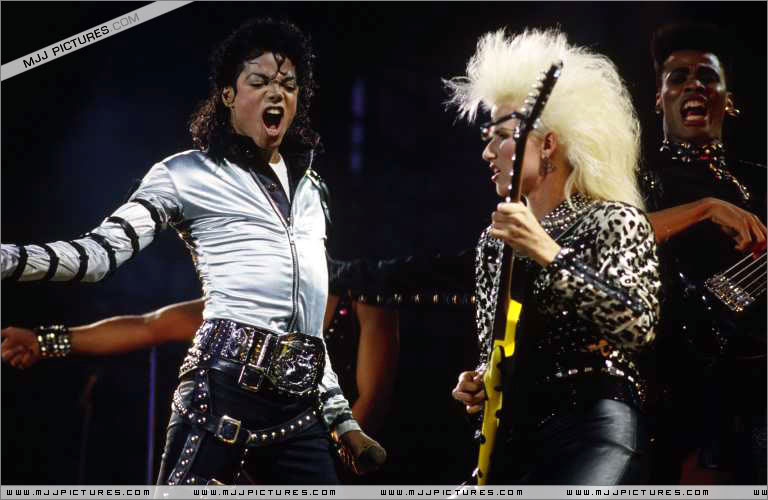 Bad World Tour Onstage- Various 238