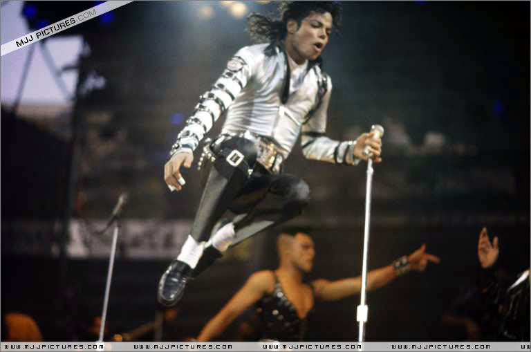 Bad World Tour Onstage- Various 239