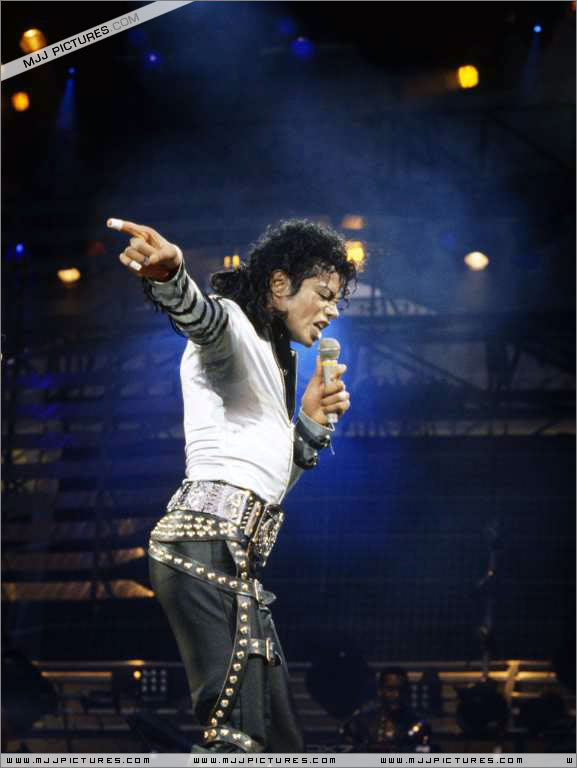 Bad World Tour Onstage- Various 244