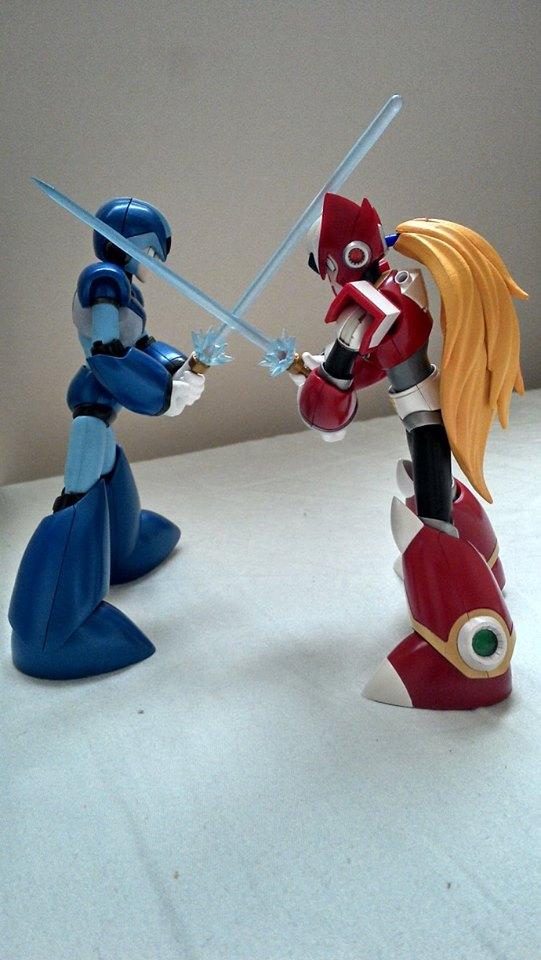 Megaman X  D-ARTS 1800490_228116197376473_1863329617_n