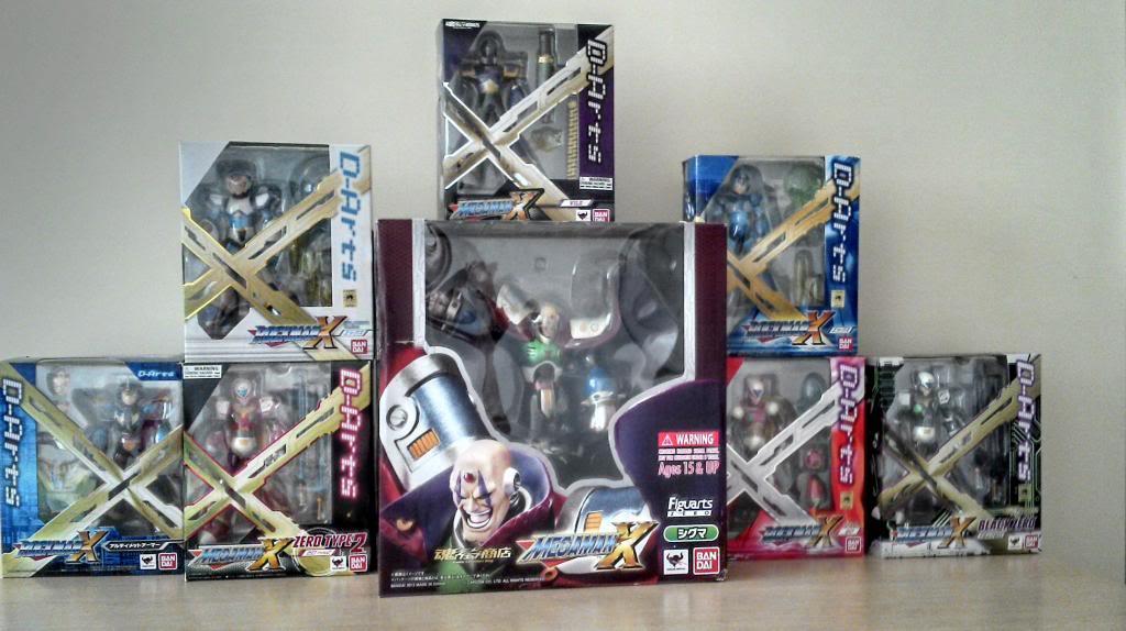Megaman X  D-ARTS IMG_20140223_172111_860