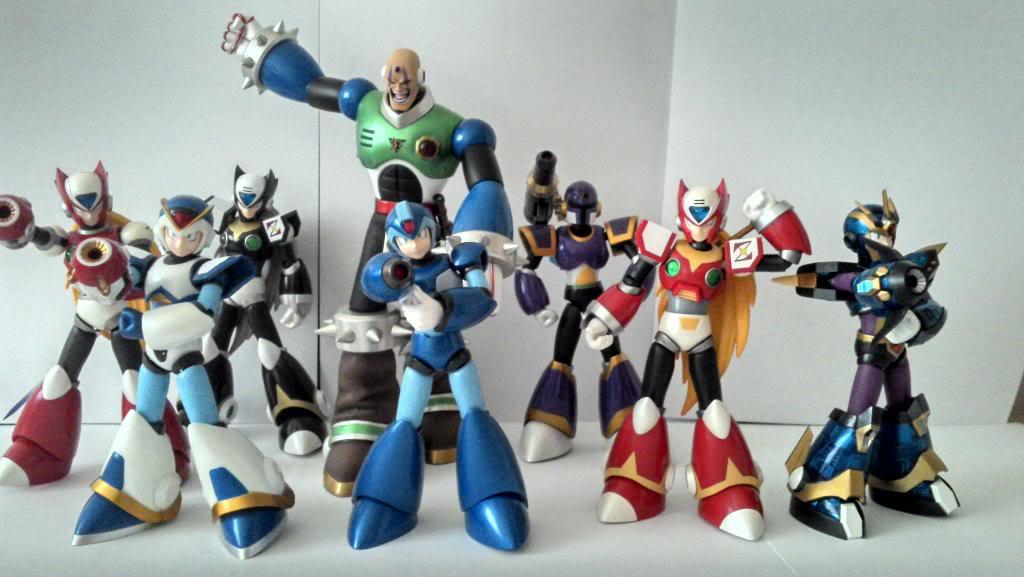 Megaman X  D-ARTS IMG_20140223_180422_432