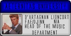 AETU Identification Cards DartagnanIDBadge