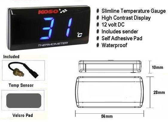 Installing coolant/water temperature gauge . . . . . . (Now Done) Kososlimline-temperature-gauge_zpsedc36792