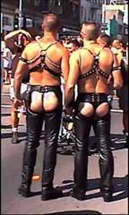 Biker boots - which for classic look Assless-chaps