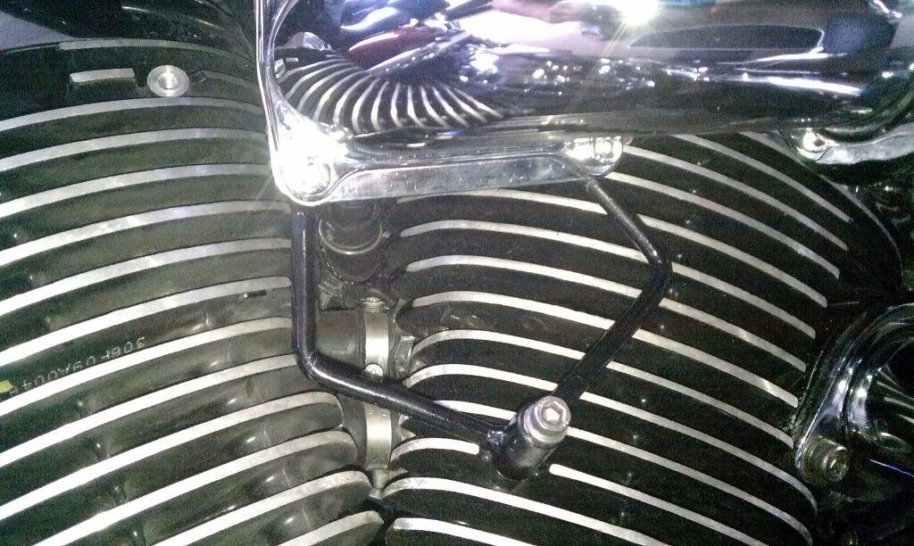 Suzuki M109 air filter cone conversion Bracket109
