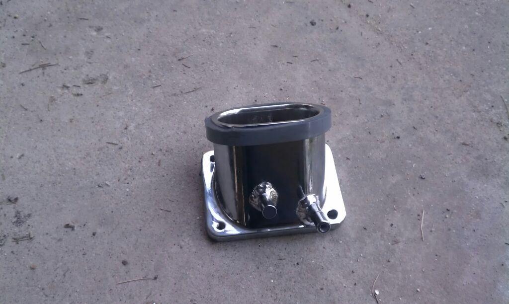 Suzuki M109 air filter cone conversion Fittedadapter