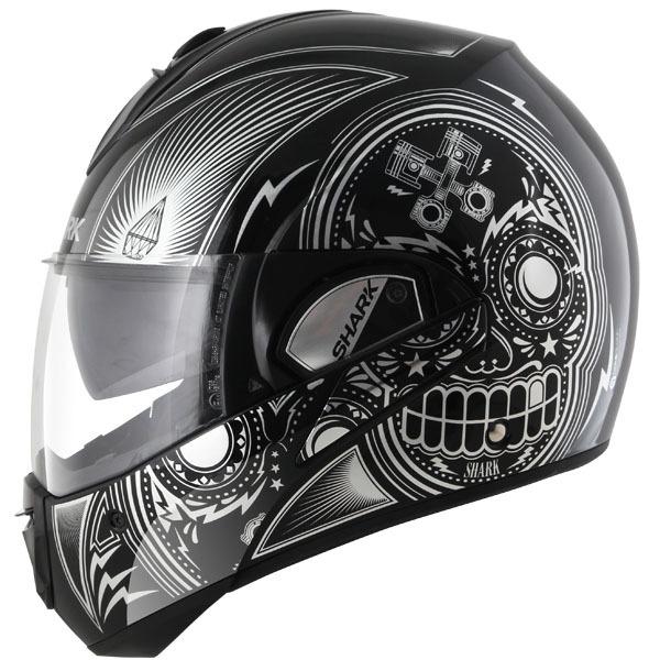 Helmet Shartk_evoline-s3_mezcal_black-chrome-black_zpsp5pqq196